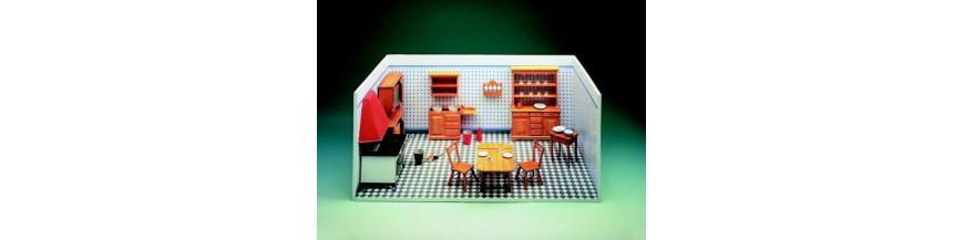 Casas de muñecas y cuentos