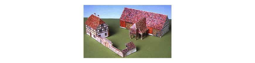 Casas, Ciudades y pueblos