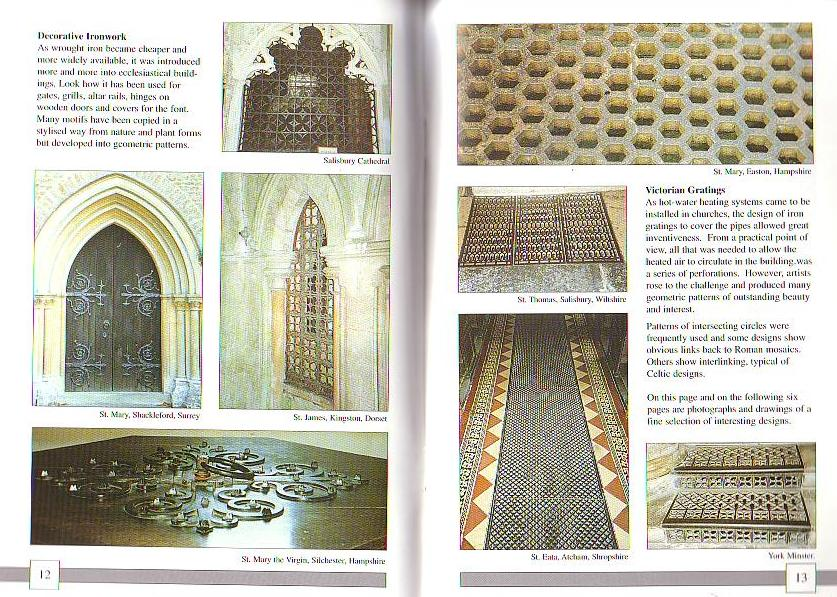 Geometric Patterns from Churches & Cathedrals. Robert Field. Haga clic para ampliar.