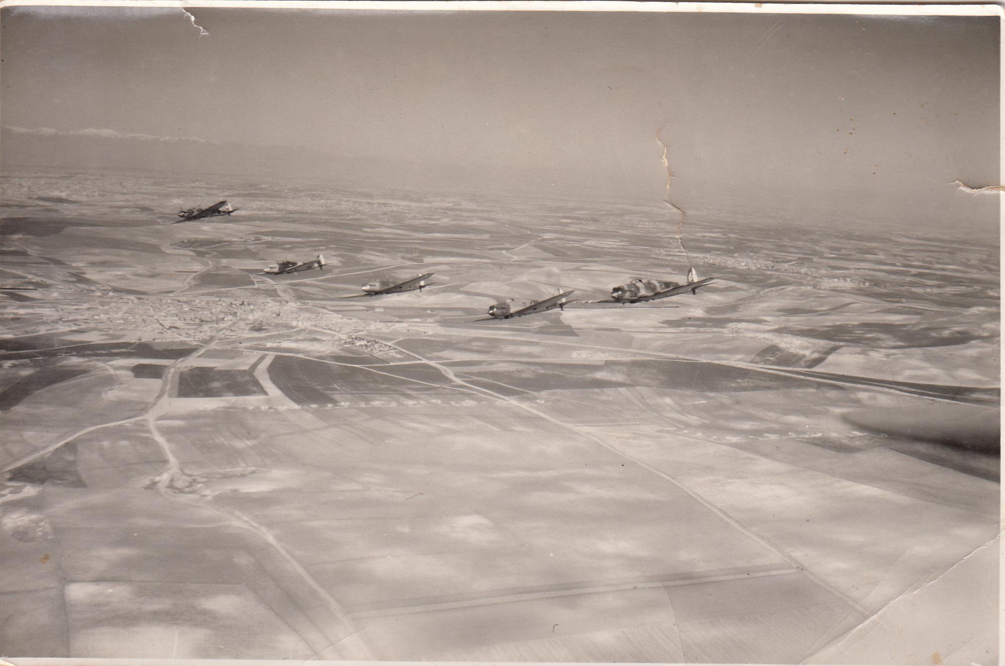 Heinkel Blitz sobre España